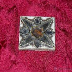 Antigüedades: **ANTIGUO AZULEJO DE SEVILLA - TRIANA **. Lote 44616580