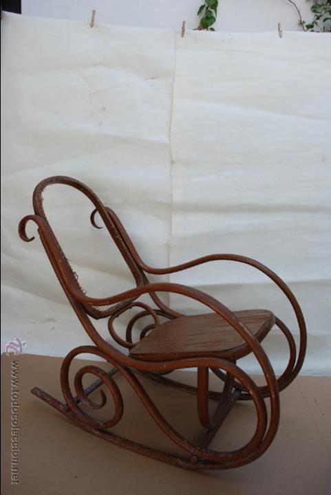 Mecedora estilo thonet antigua para restaurar comprar - Reparar muebles antiguos ...