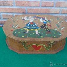 Antigüedades - caja madera - 44650585