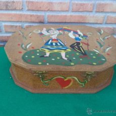 Antigüedades: CAJA MADERA. Lote 44650585