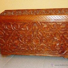 Antigüedades: ANTIGUO ARCON DE FILIGRANA TALLADA. Lote 44655151