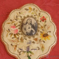 Antigüedades: ESCAPULARIO: SAGRADO CORAZÓN DE JESÚS. Lote 44664869