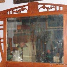 Antigüedades: MUY BONITO ESPEJO MODERNISTA PRINCIPIOS S.XX. Lote 44667886
