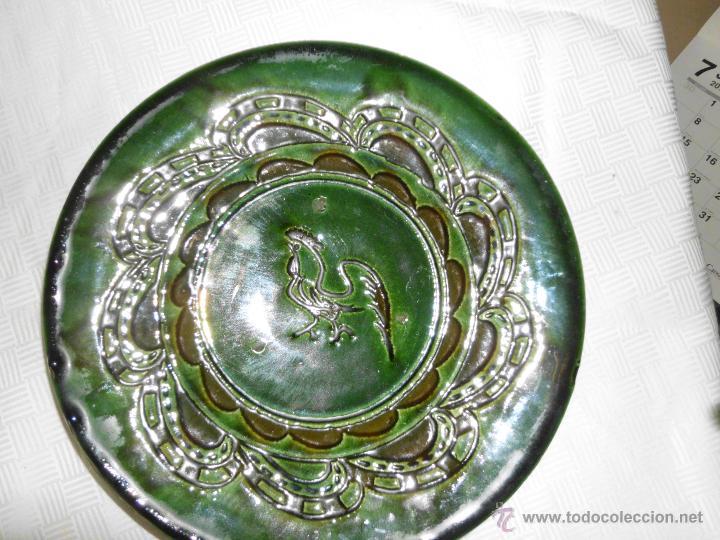 PLATO DE CERÁMICA VIDRIADA TITO UBEDA (Antigüedades - Porcelanas y Cerámicas - Úbeda)