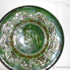 Antigüedades: PLATO DE CERÁMICA VIDRIADA TITO UBEDA. Lote 44693195