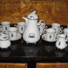 Antigüedades: ANTIGUO JUEGO DE TÉ O CAFÉ DE PORCELANA BAVARIAN. Lote 44694403