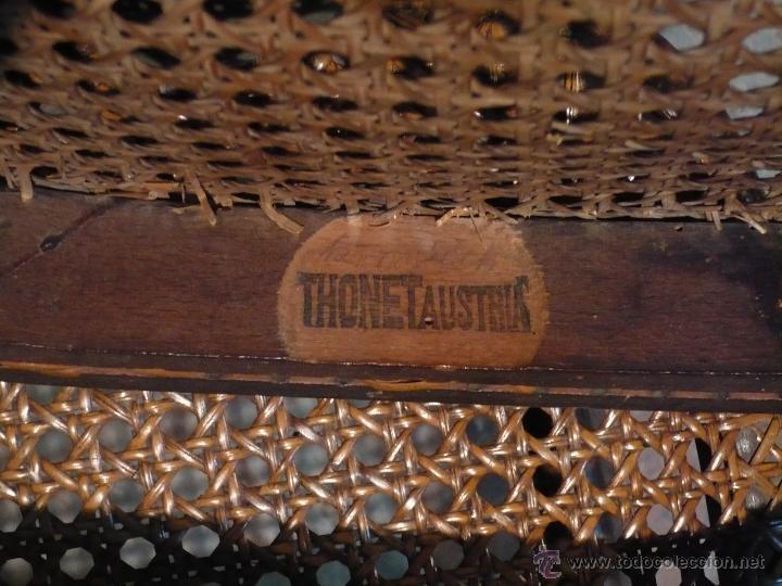 4 sillas thonet originales con sello y etiqueta comprar for Sillas originales