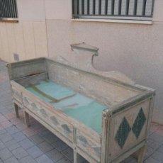 Antigüedades: BANCA GUSTAVIANA SIGLO XVIII DECAPE ORIGINAL. Lote 44710447