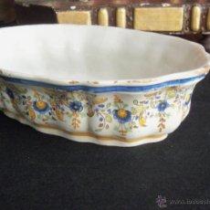 Antigüedades: VANDEJA DE TALAVERA RUIZ DE LUNA . Lote 44713345