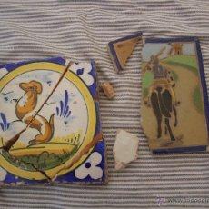 Antigüedades: RESTOS DE AZULEJOS. Lote 44714091