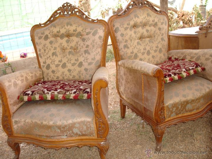 Pareja de sillones estilo isabelino comprar sillones for Sillones de estilo
