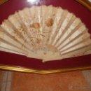 Antigüedades: IMPRESIONANTE ABANICO DEL SIGLO 19. Lote 44751612