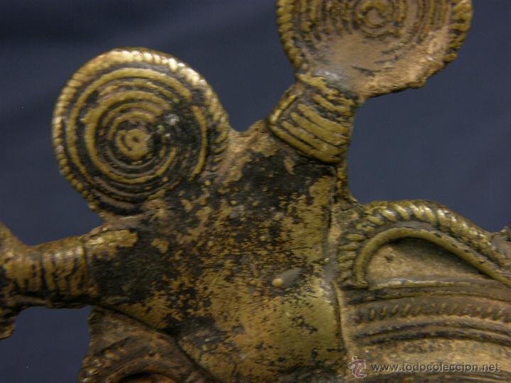 Antigüedades: DEEPAK O DIPAK LÁMPARA ACEITE TRADICIONAL INDIA LATÓN PARA RITUALES DOMÉSTICOS FIESTA DIWALI - Foto 5 - 44757900