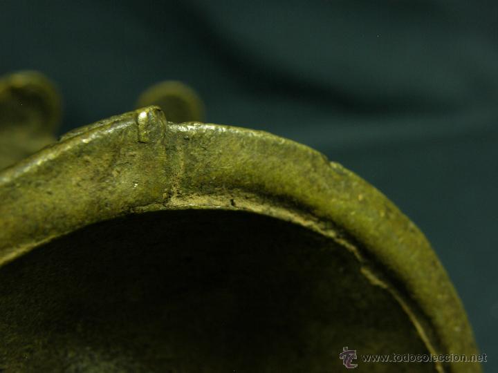 Antigüedades: DEEPAK O DIPAK LÁMPARA ACEITE TRADICIONAL INDIA LATÓN PARA RITUALES DOMÉSTICOS FIESTA DIWALI - Foto 7 - 44757900