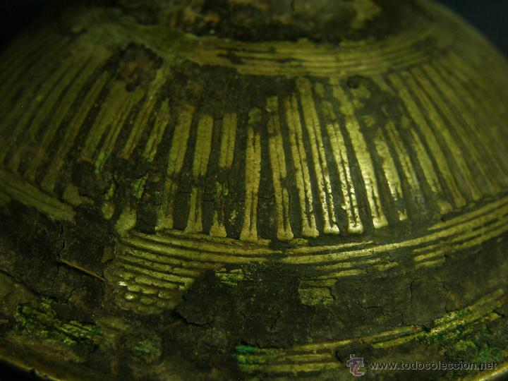 Antigüedades: DEEPAK O DIPAK LÁMPARA ACEITE TRADICIONAL INDIA LATÓN PARA RITUALES DOMÉSTICOS FIESTA DIWALI - Foto 8 - 44757900