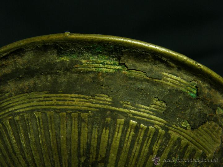 Antigüedades: DEEPAK O DIPAK LÁMPARA ACEITE TRADICIONAL INDIA LATÓN PARA RITUALES DOMÉSTICOS FIESTA DIWALI - Foto 9 - 44757900