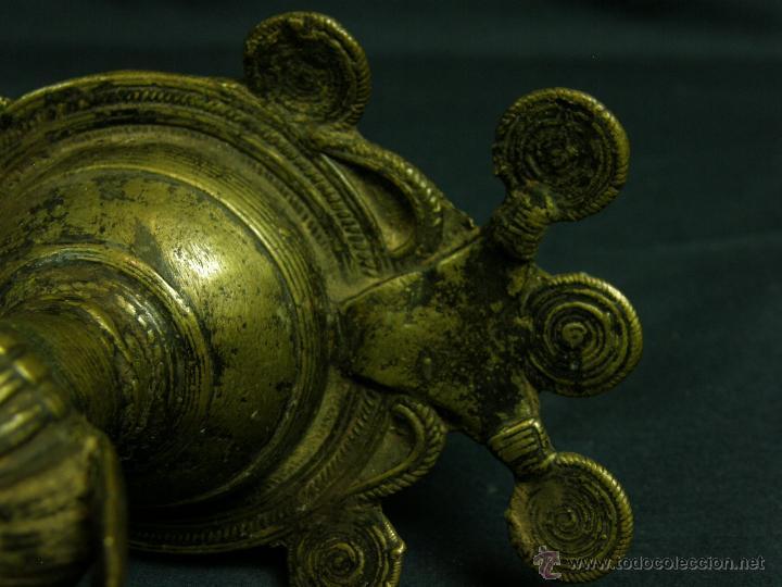 Antigüedades: DEEPAK O DIPAK LÁMPARA ACEITE TRADICIONAL INDIA LATÓN PARA RITUALES DOMÉSTICOS FIESTA DIWALI - Foto 14 - 44757900