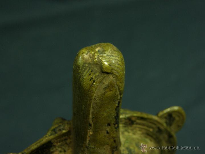 Antigüedades: DEEPAK O DIPAK LÁMPARA ACEITE TRADICIONAL INDIA LATÓN PARA RITUALES DOMÉSTICOS FIESTA DIWALI - Foto 17 - 44757900