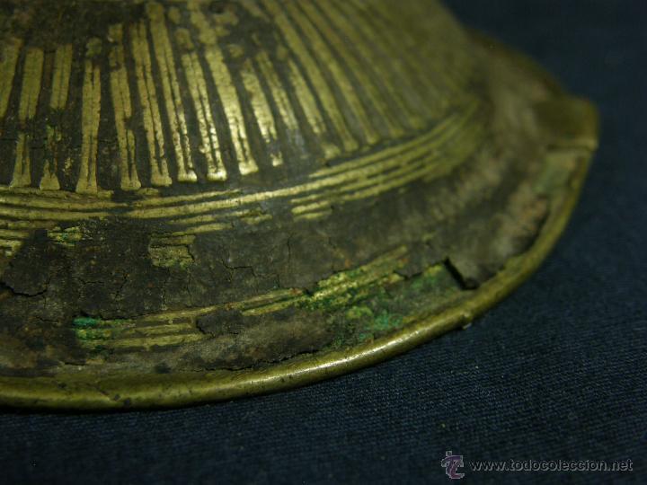Antigüedades: DEEPAK O DIPAK LÁMPARA ACEITE TRADICIONAL INDIA LATÓN PARA RITUALES DOMÉSTICOS FIESTA DIWALI - Foto 25 - 44757900