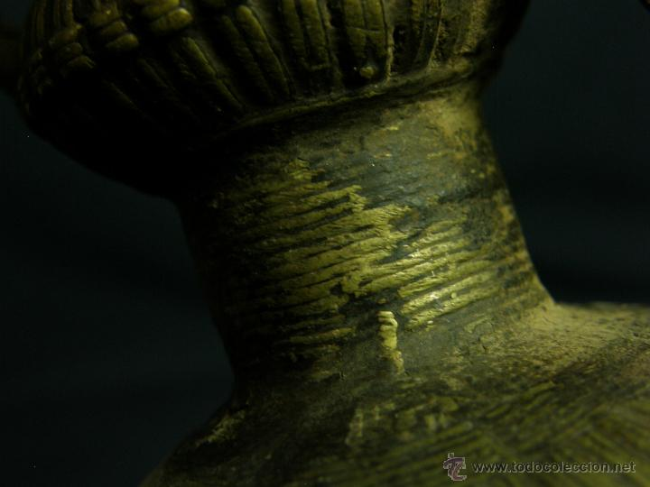 Antigüedades: DEEPAK O DIPAK LÁMPARA ACEITE TRADICIONAL INDIA LATÓN PARA RITUALES DOMÉSTICOS FIESTA DIWALI - Foto 26 - 44757900