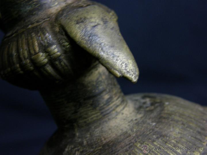 Antigüedades: DEEPAK O DIPAK LÁMPARA ACEITE TRADICIONAL INDIA LATÓN PARA RITUALES DOMÉSTICOS FIESTA DIWALI - Foto 28 - 44757900