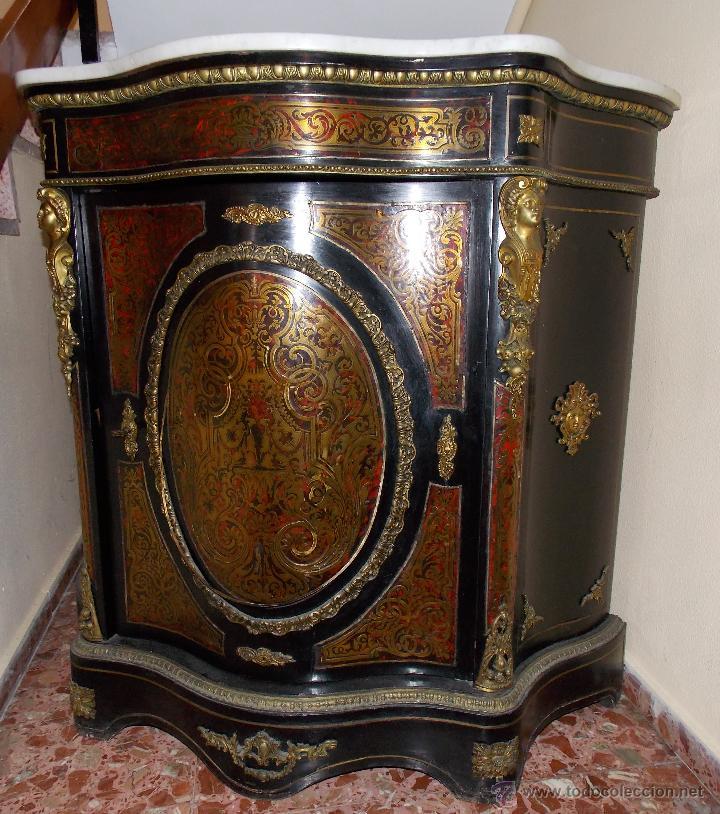 Mueble antiguo entred s c moda aparador o con comprar for Consolas antiguas muebles