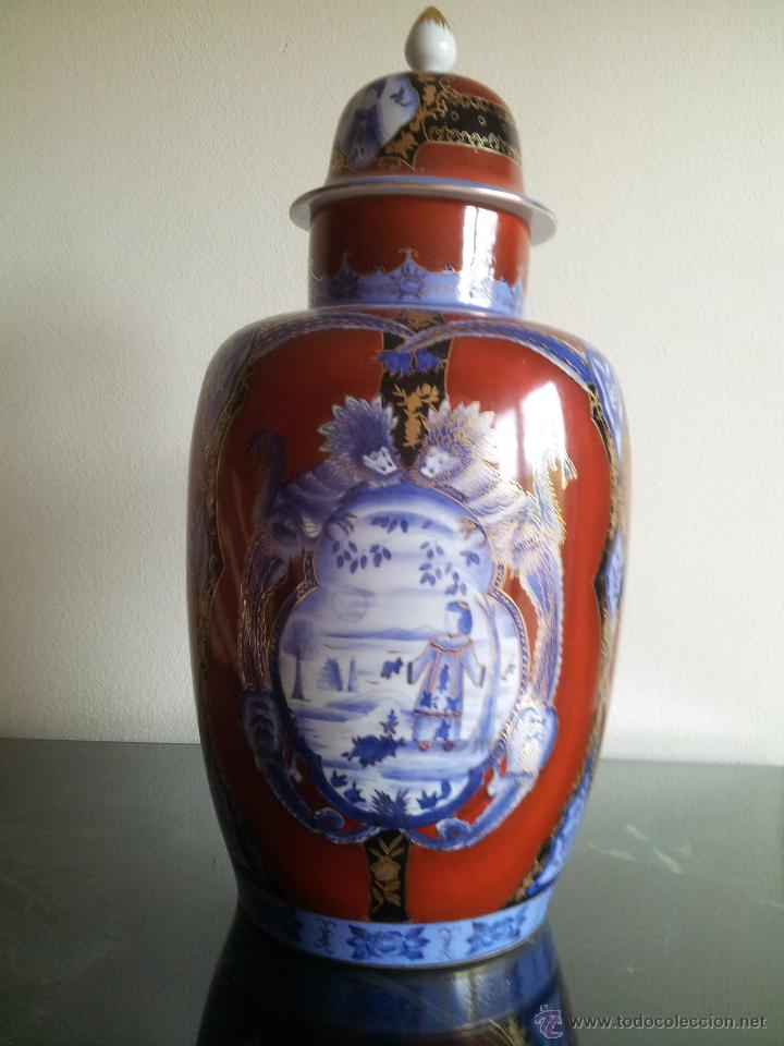 TIBOR ''PARIS ROYAL'' PINTADO A MANO (Antigüedades - Porcelanas y Cerámicas - China)