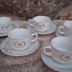 Antigüedades: ANTIGUO JUEGO DE CAFÉ - SAN CLAUDIO -. Lote 44779711
