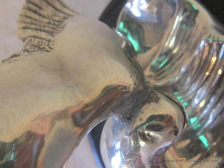 Antigüedades: GAVIOTA EN PLATA MACIZA DE LEY 925MILESIMAS - Foto 8 - 44793391