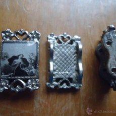 Antiquités: ABALORIO RELIGIOSO PARA PULSERA, METALICA CON DOS AGUJERITOS PARA LA CUERDA - VIRGEN INMACULADA. Lote 44806801
