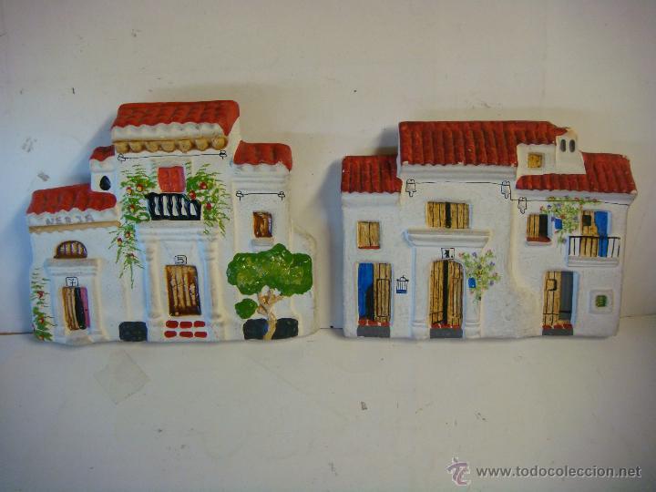 2fachadas en barro pintadas de casa andaluza Comprar Figuras