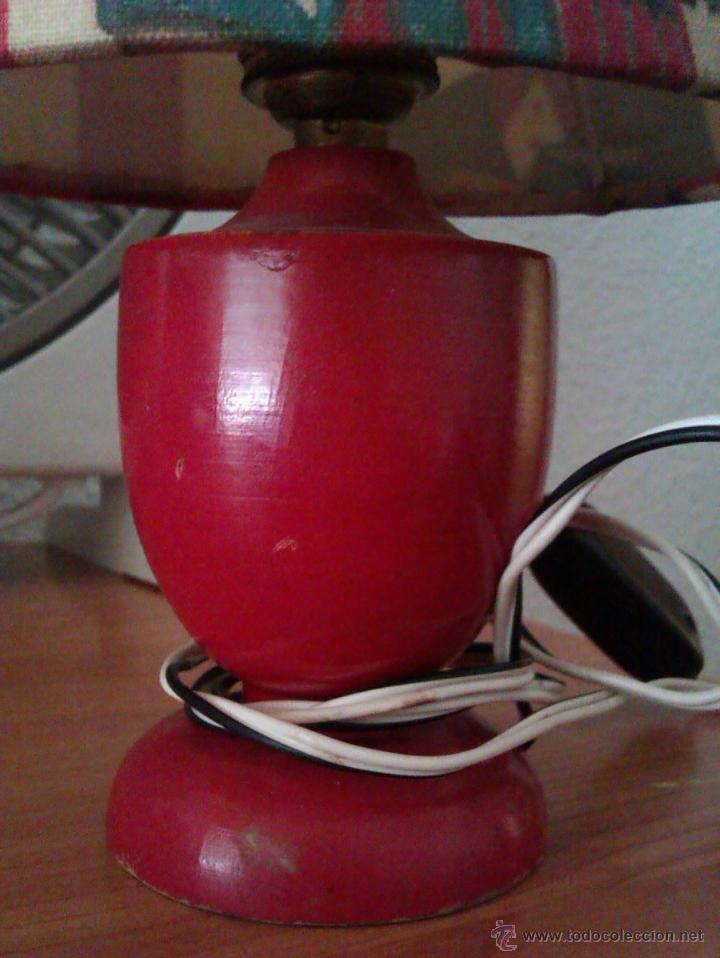 Antigüedades: ANTIGUA LAMPARA DE SOBREMESA INFANTIL PRINCIPIOS SIGLO XX DE LA FAMOSA MARCA CATALANA SIMON - Foto 4 - 44814608