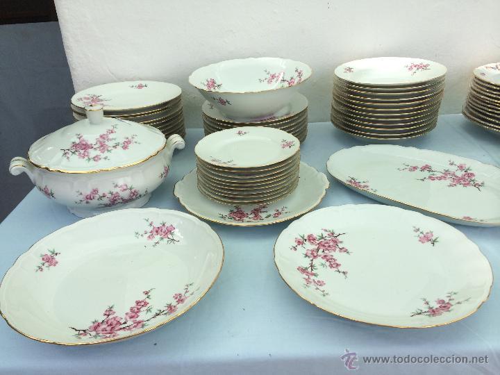 Vajilla antigua en porcelana de limoges sellada comprar for Vajilla precio