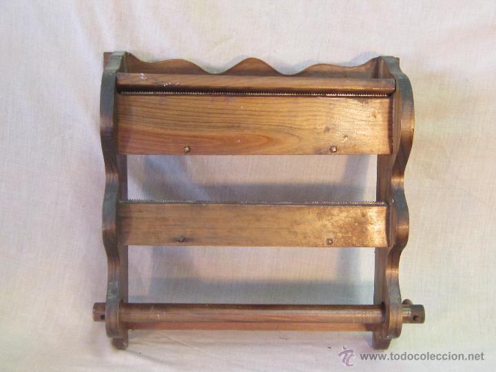 REPISA PARA EL ROLLO DE PAPEL PARA COCINA (Antigüedades - Muebles Antiguos  - Repisas Antiguas 8f56d8b2e1d2