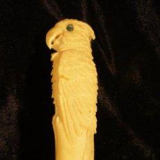 Antigüedades: BASTON DE HOMBRE DE MARFIL. Lote 44838765