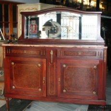 Antigüedades: MUEBLE AUXILIAR CON ESPEJO. REF. 5743. Lote 44859604