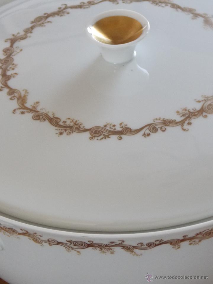 Antigüedades: Vajilla porcelana Bidasoa esplendida y completa vajilla de los Años 80 - Foto 7 - 44872223