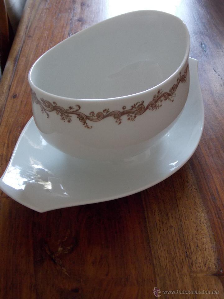 Antigüedades: Vajilla porcelana Bidasoa esplendida y completa vajilla de los Años 80 - Foto 13 - 44872223