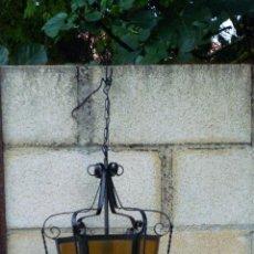 Antigüedades: FAROL DE FORJA. Lote 44875836