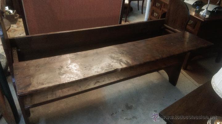 Banco esca o popular gallego comprar sof s antiguos en for Muebles de segunda mano en galicia