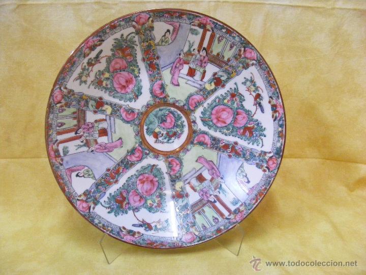 GRAN PLATO CHINO (Antigüedades - Porcelanas y Cerámicas - China)