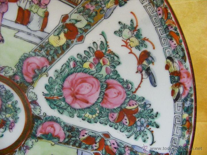 Antigüedades: Gran plato chino - Foto 4 - 44904357