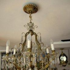 Antigüedades: INCREIBLE LAMPARA. Lote 44930514