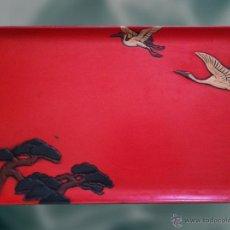 Antigüedades: BANDEJA JAPONESA 1920. Lote 44946097