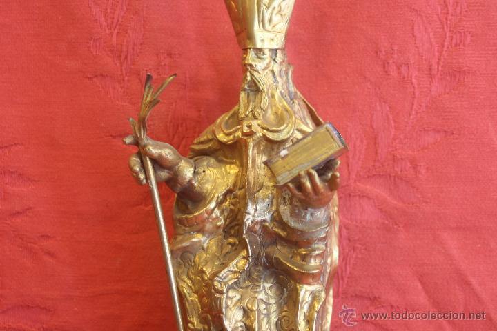 Antigüedades: San Isidoro de metal - Foto 4 - 44962508