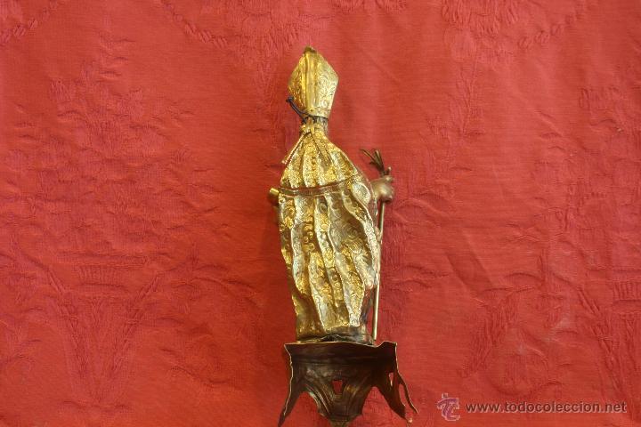 Antigüedades: San Isidoro de metal - Foto 7 - 44962508