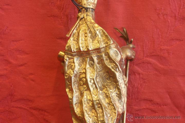 Antigüedades: San Isidoro de metal - Foto 8 - 44962508