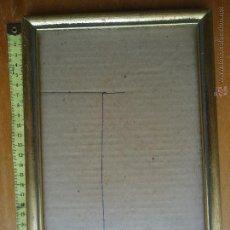 Antigüedades: ANTIGUO MARCO MADERA VER FOTO. Lote 44965971