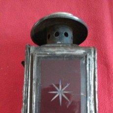 Antigüedades: ANTIGUO FAROL DE CARRO. Lote 44981785