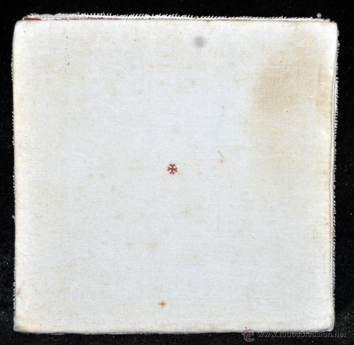 Antigüedades: ANTIGUA PALIA O CUBRE CÁLIZ REALIZADO A GANCHILLO O BOLILLO. CIRCA 1900 - Foto 3 - 44985832